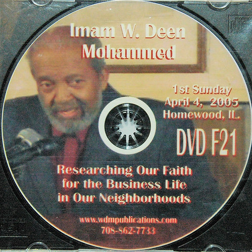 Apr 2005 | Researching Our Faith for the Business Life in Our Neighborhoods