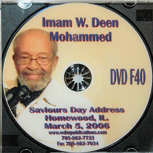 2006 Saviors Day Address