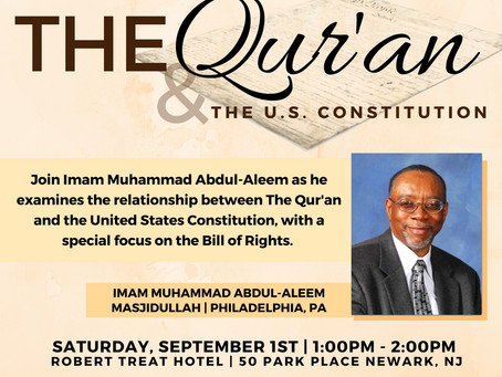 The Quran and the U.S. Constitution