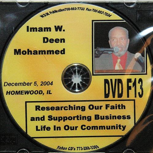 Dec 2004 | Researching Our Faith for the Business Life in Our Neighborhoods