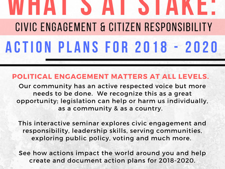 Civic Engagement - What's At Stake!