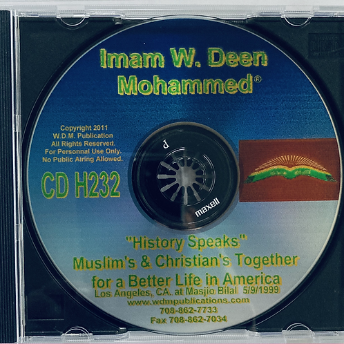 Muslims & Christian's Together for a Better Life in America