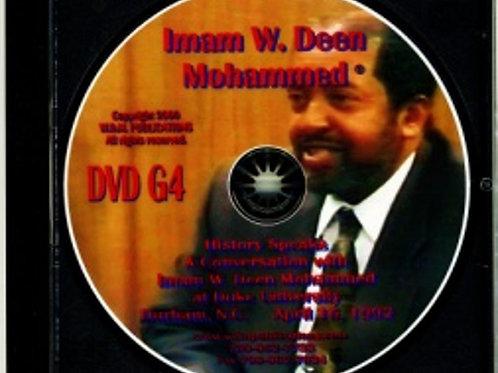 A Conversation with Imam W. Deen Mohammed at Duke University
