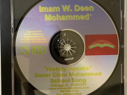 Sister Clara Muhammad School Song