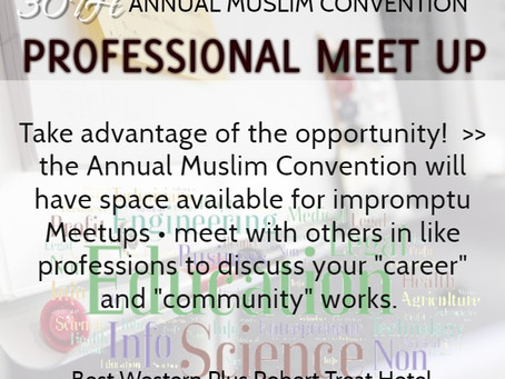 Take Advantage of Meet Up Opportunities