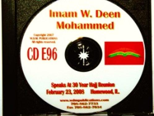 Imam W. Deen Mohammed Speaks at 30 Year Hajj Reunion