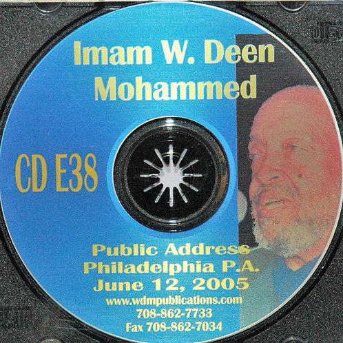 Imam W Deen Mohammed Public Address