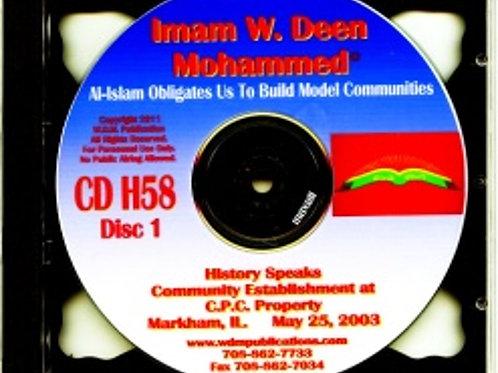 Community Establishment
