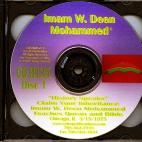 Imam W. Deen Mohammed Teaches Quran and Bible