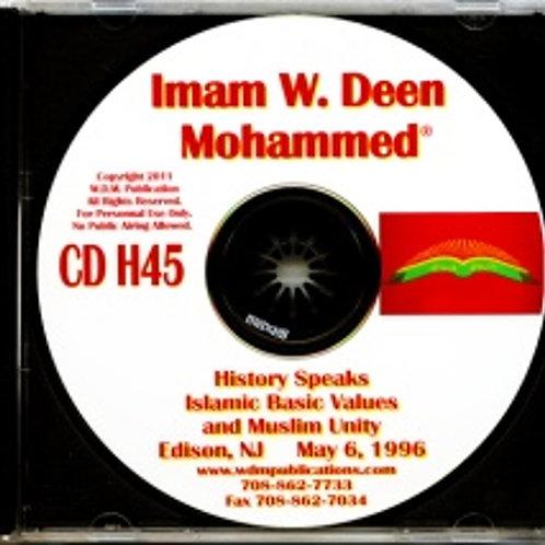 Islamic Basic Values and Muslim Unity