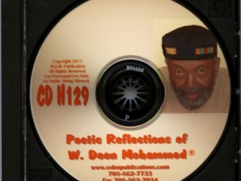 Poetic Reflections of W. Deen Mohammed