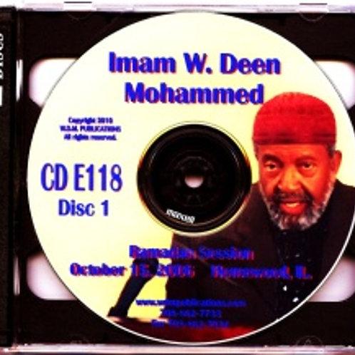 2006 Ramadan Session (part 3)