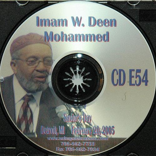 2005 Saviors Day Address