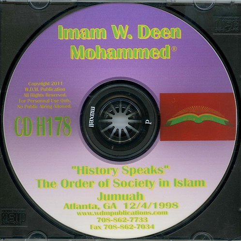 The Order of Society in Islam