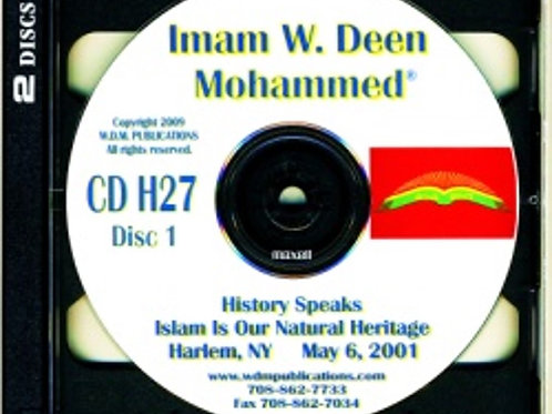 Islam Is Our Natural Heritage