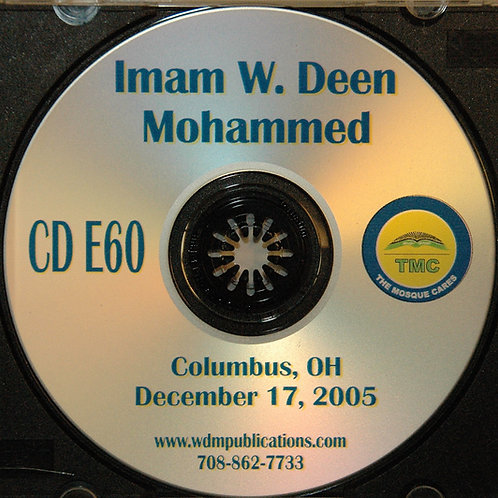 Imam W Deen Mohammed Speaks in Columbus, OH