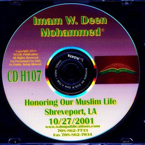 Honoring Our Muslim Life