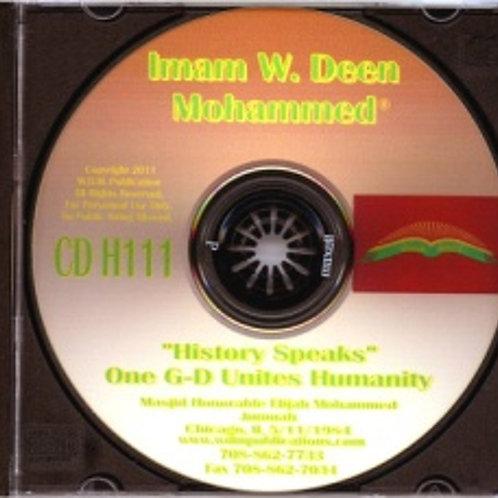 One G-D Unites Humanity