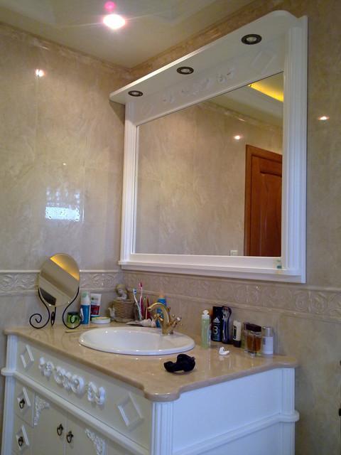 Зеркало в ванну.