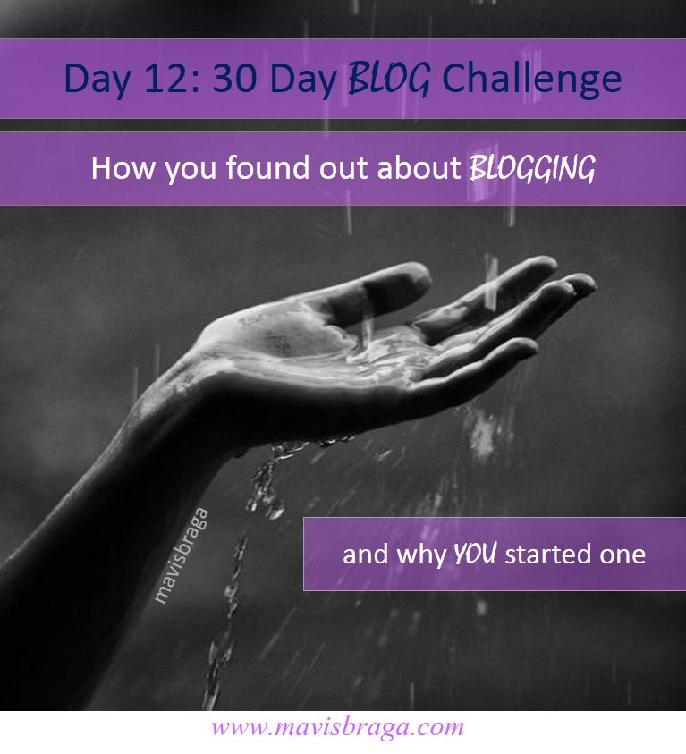 30 Day Blog Challenge - Day 12