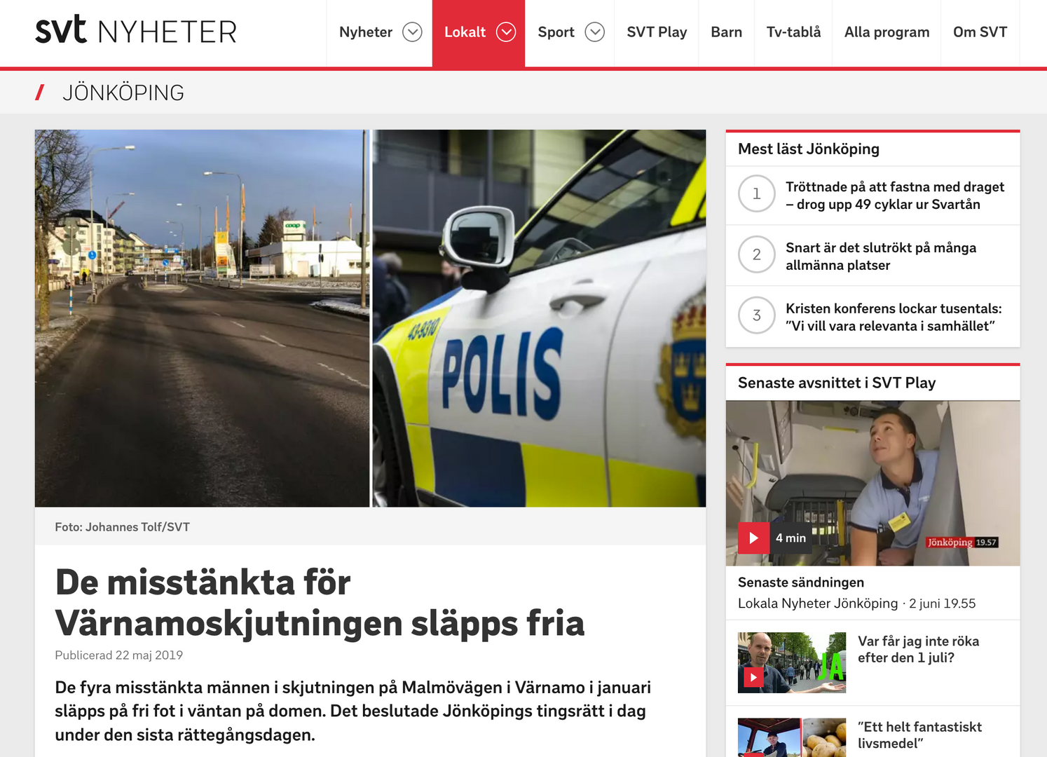 SVT Nyheter - Lundell Sjölander