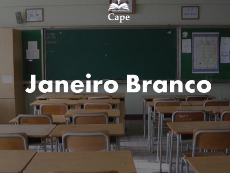 Janeiro Branco também se faz nas escolas