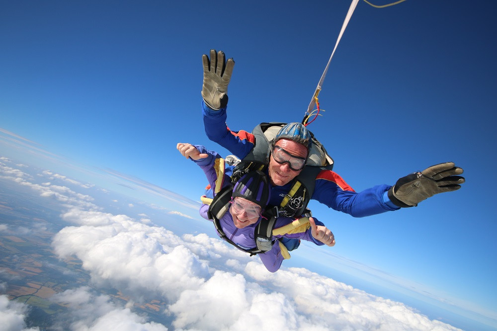Creating Change - Facing the Fear Skydiving