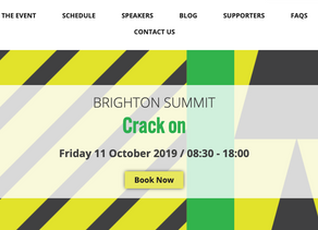 Crack On with Your Sleep at Brighton Business Summit 2019