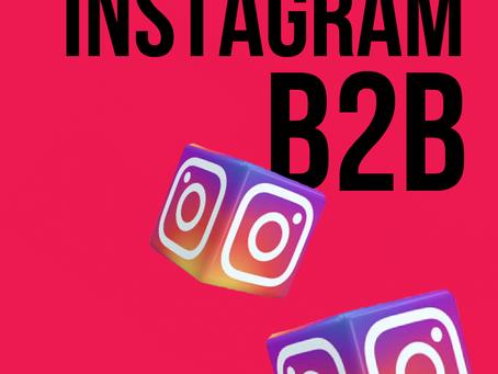 Согласуйте Instagram со своей стратегией B2B