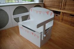 As a toy storage box & bench seat
