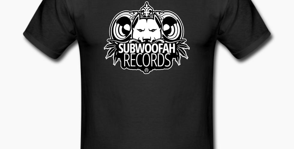 Subwoofah Records Black Tee