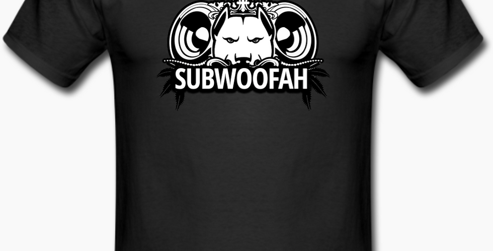Subwoofah Black Tee