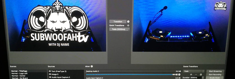 Live Stream Studio Hire