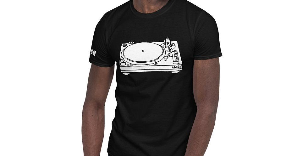 Amen Vinyl - Short-Sleeve Unisex T-Shirt
