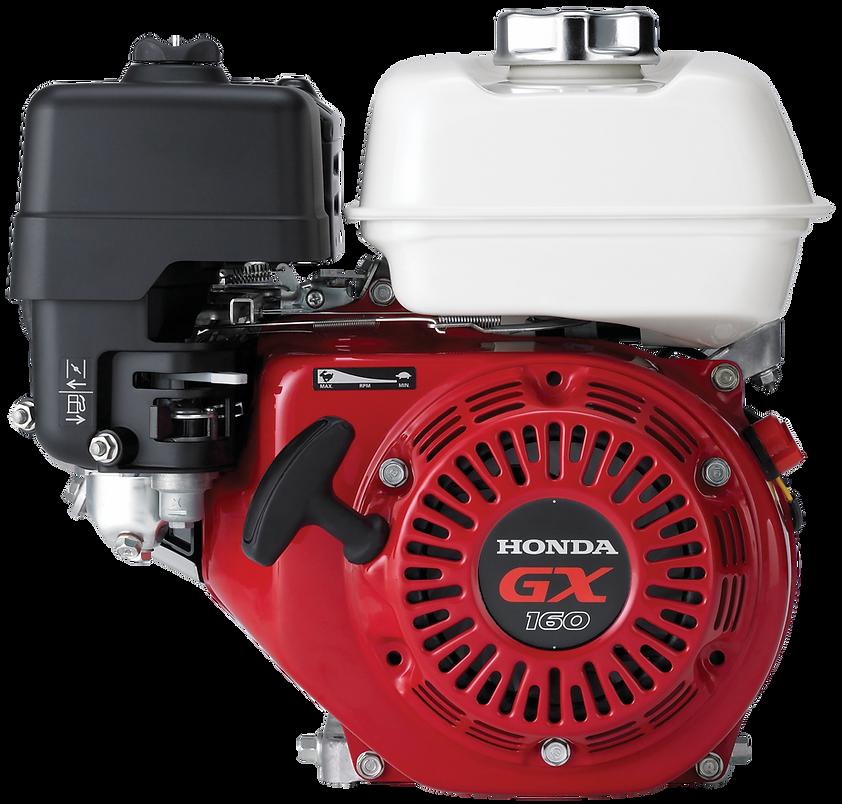 background image of transparent Honda engine