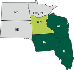 regional terrirory in the United states