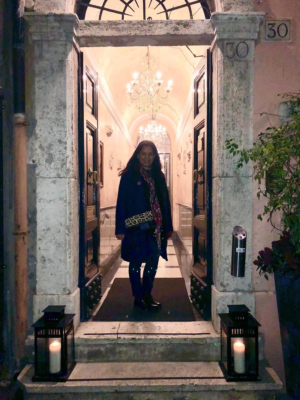 Kati at The Inn at the Roman Forum