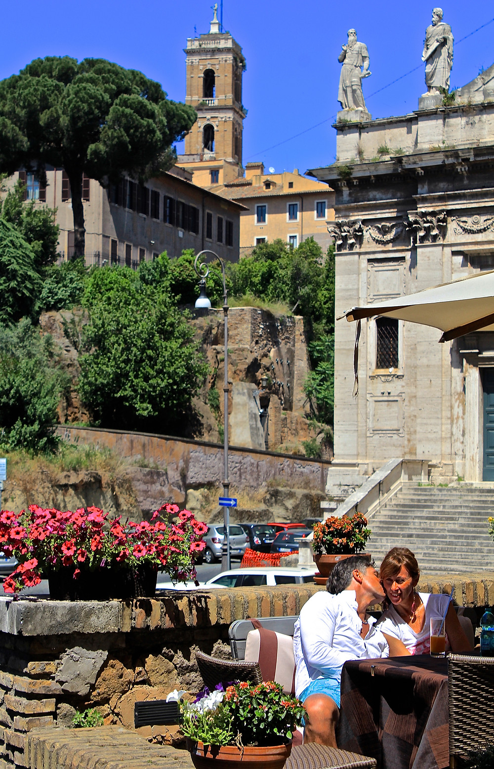 Via dei Fienili - Haven Near the Forum. Ignore the carpark.. It's Rome