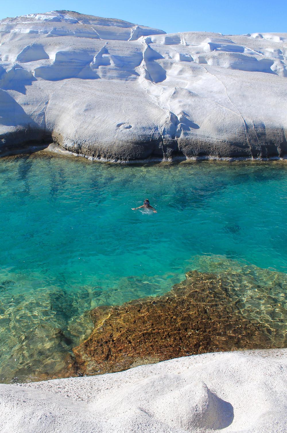 White Rocks - Sarakiniko, Milos