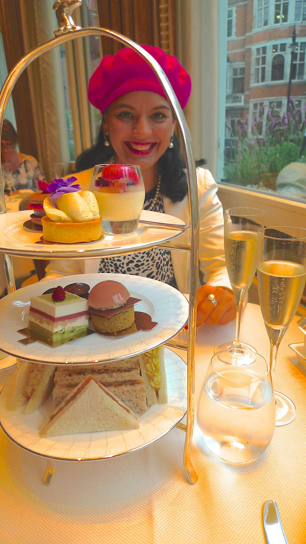 Afternoon Tea at The Connaught Hotel in Mayfair, London