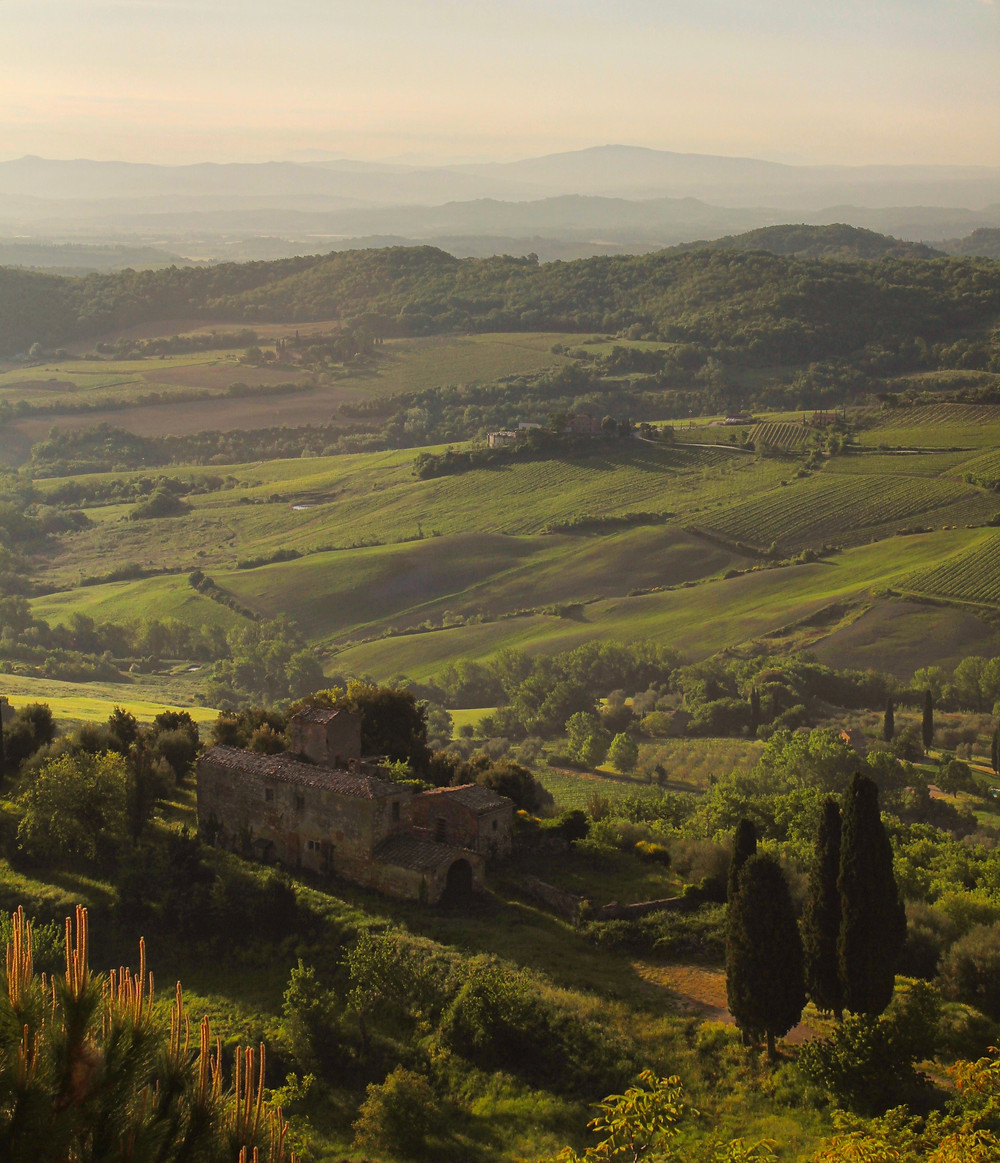 The view from Palazzo Carletti, Montepulciano