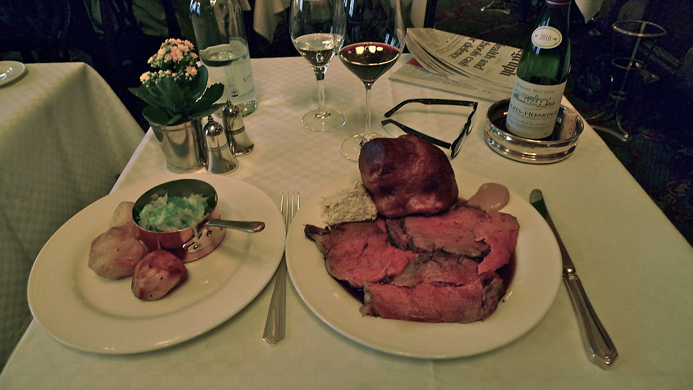 Beef at Simpson's