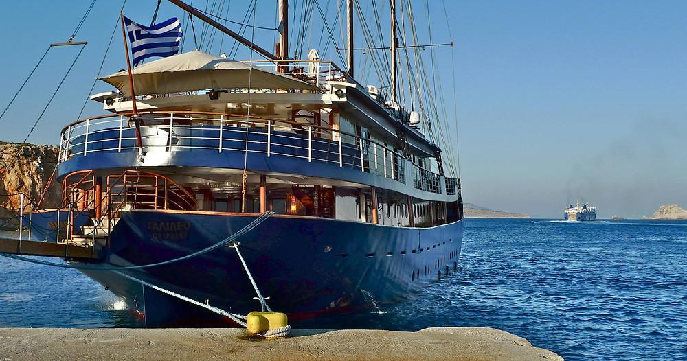 Island Hopping Around Greece.