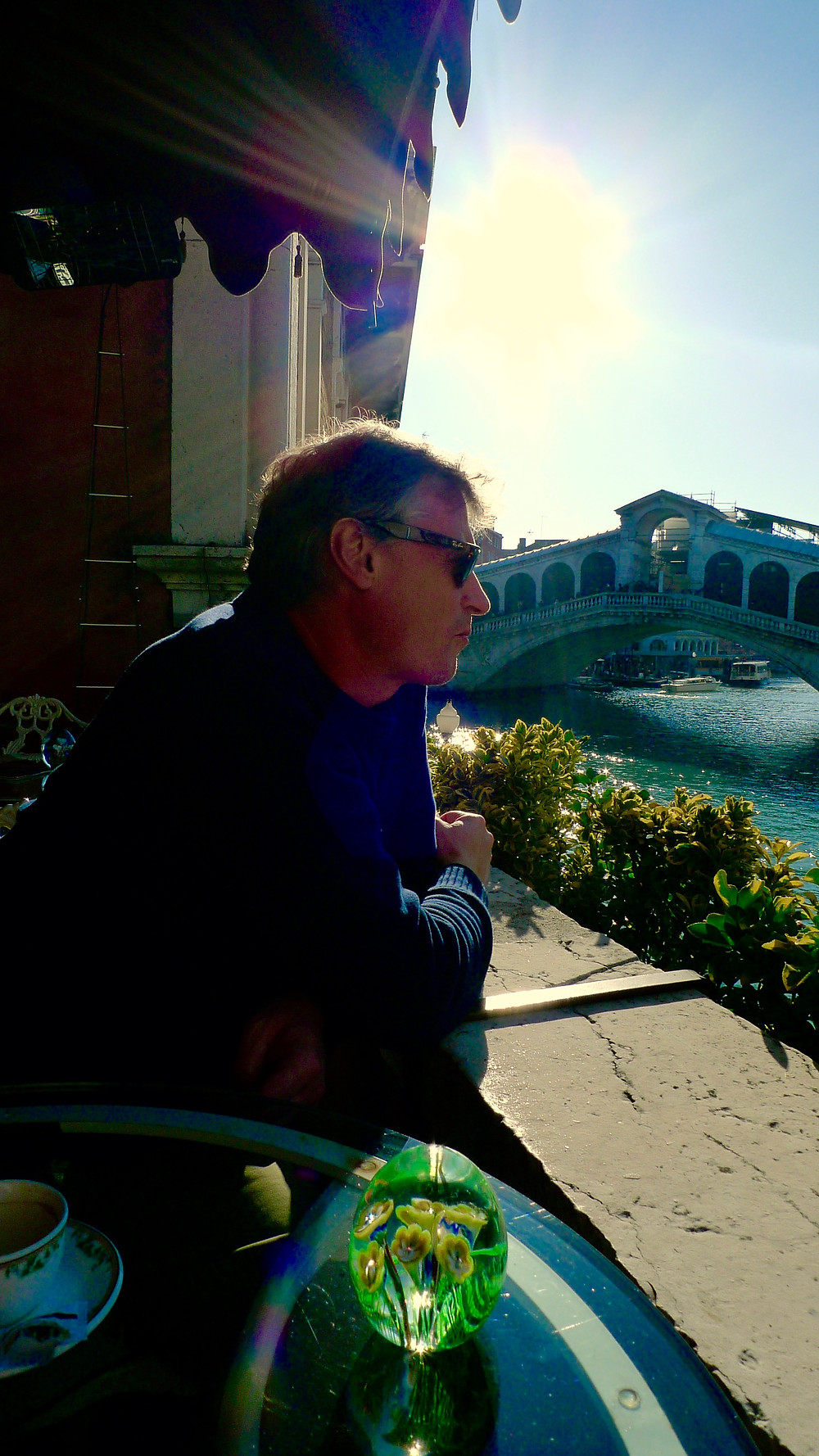 A Thoughtful OST at Al Ponte Antico, Venice.