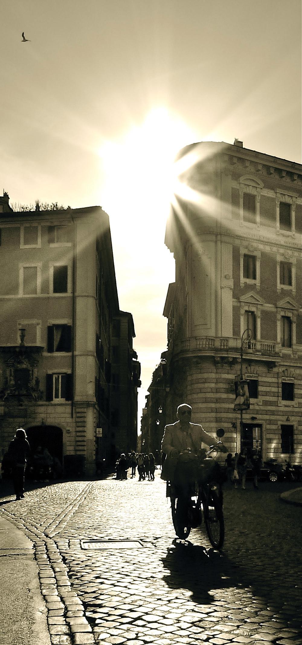 Rome, Facing Towards Sundown