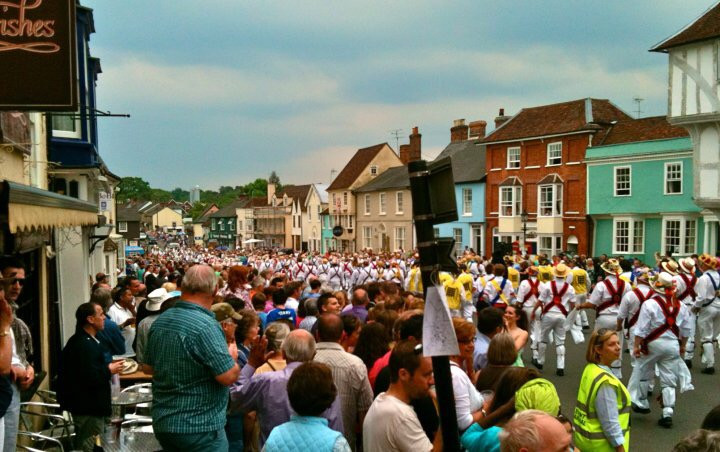 Mass Dancing in Thaxted