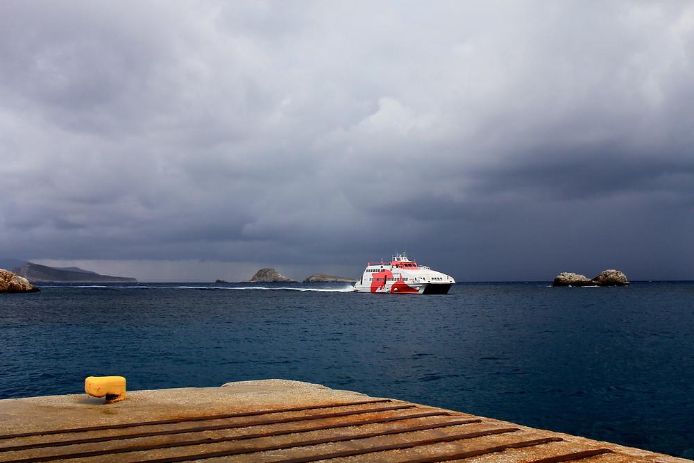 SeaJet Arrival
