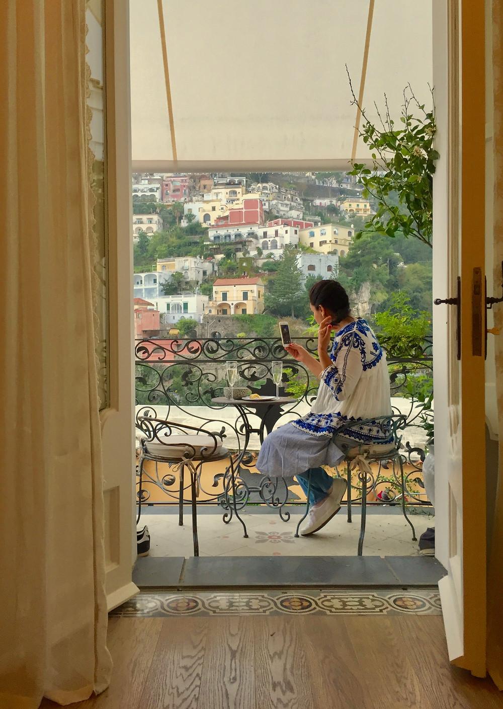 Kati at Casa Buonocore, Positano