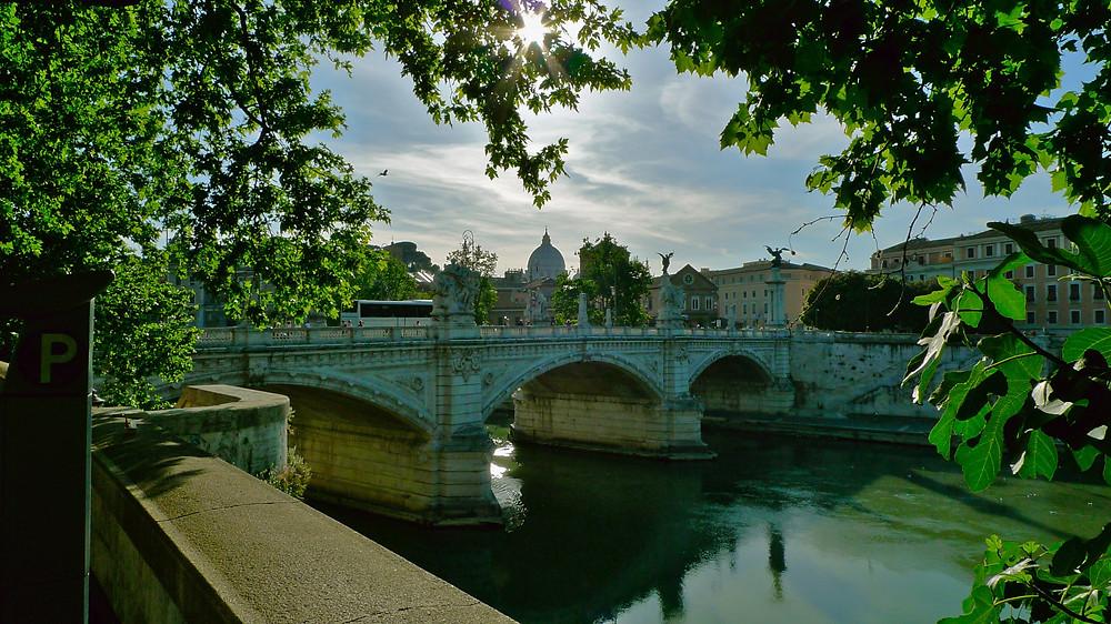 The Vatican across the Tiber