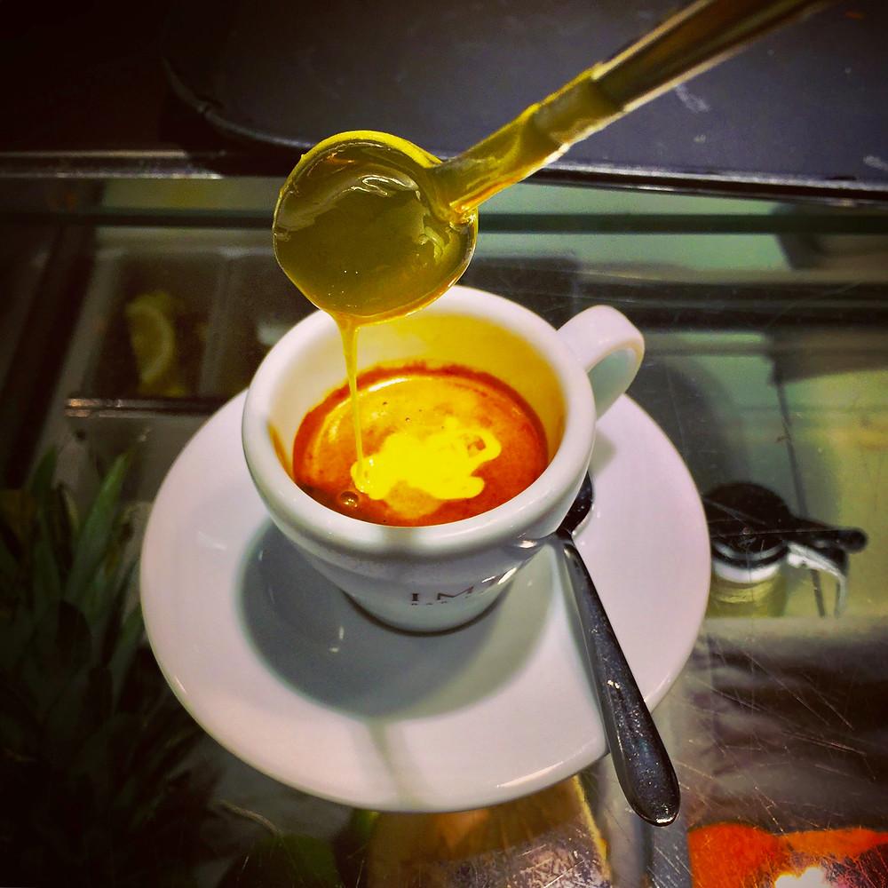 Impero Espresso with Zabaglione